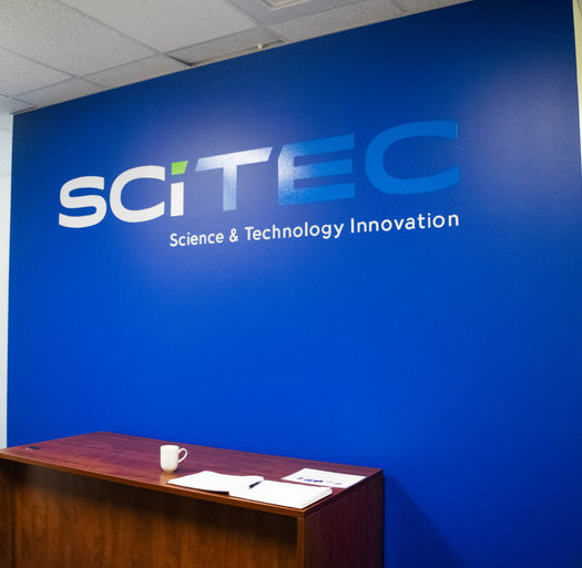 new wall in scitec boulder office expansion